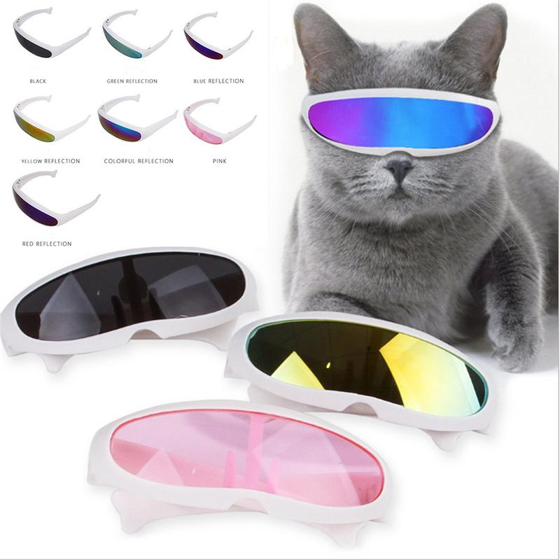 2019 New Pet Fashionable Sunglasses Dog Cat Funny Personalized Sun Resistant UV Protection Glasses