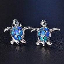 Fashion Cute Sea Turtle Earring Personalized Lovely Animal Ear Stud Earring For