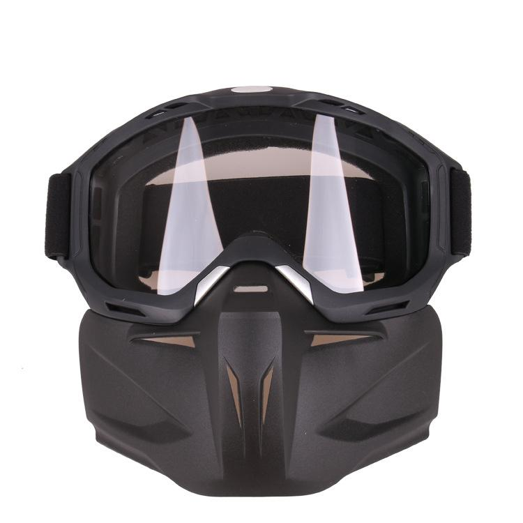LumiParty Motorcycle Racing Goggles Retro Bike Off-road Tactical Goggles Outdoor Sports Anti-sand Goggles Goggles Mask