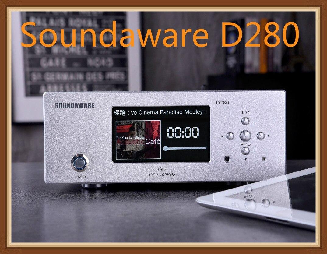 Soundaware D280 Hifi Erschwinglichen Netzwerk Digital Transport Femto Uhr Hohe Leistung Sound Quelle Fpga Musik Player Dsd Pcm Eleganter Auftritt Unterhaltungselektronik
