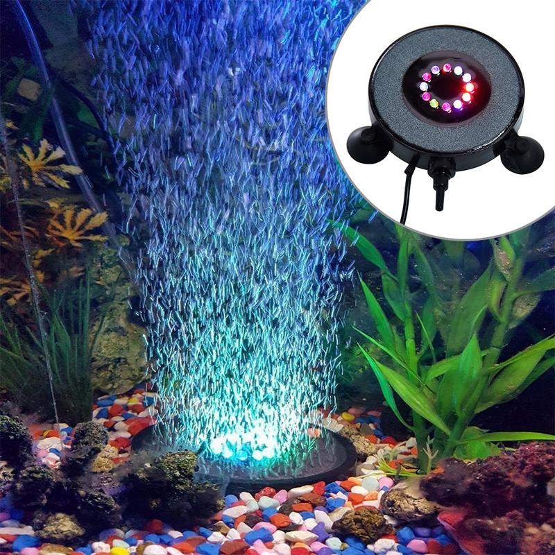 Воздух и свет для аквариума фото