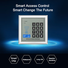 RFID Access Control System Keypad Doorbell Digital Panel Card Reader RFID Lock System For Door Access Control System Security zk c3 400 linus system door access control panel with free software 4 doors full access control system with 280kg magnetic lock