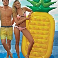 Floating swimming bed Pineapple Swimming Ring Unicorn Inflatable Pool Float For Child&Adult Water Toys