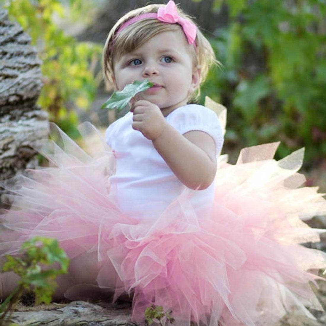 Haben Sie Einen Fragenden Verstand Bunte Baby Mädchen Rock Prinzessin Blase Shorts Rock Mit Stirnband Neugeborenen Foto Schießen Fotografie Prop Modern Und Elegant In Mode