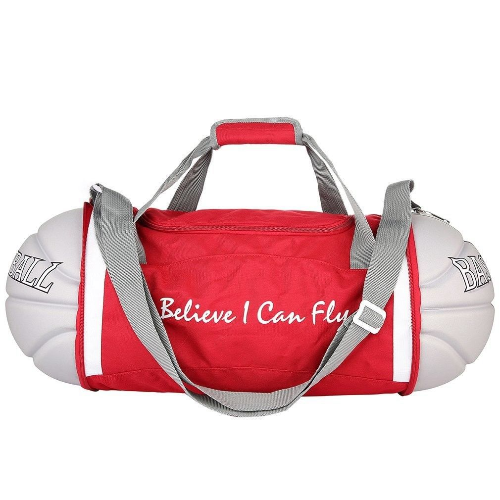 Unisex Foldable Basketball Shape Gym Sport Duffel Bag Travel Vacation Home  Outdoor for Men and Women-in Gym Bags from Sports   Entertainment on ... ae9c327b09f4e