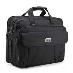 Neue Top Qualität Klassische Business Aktentasche Männer Schulter Taschen 15 Zoll Laptop Tasche Wasserdichte Durable Reise Große Handtaschen Maleta