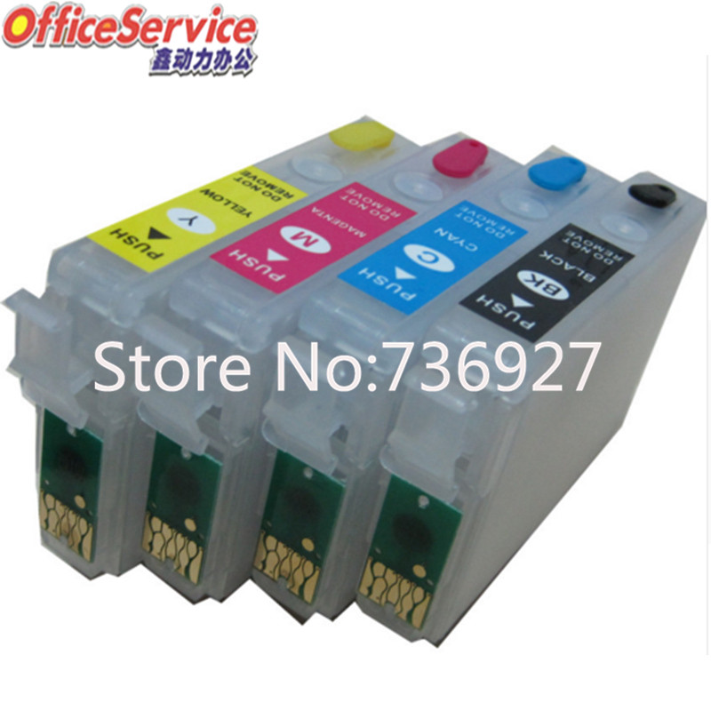 [Empty] Refillable ink Cartridge T2001XL For <font><b>Epson</b></font> WF-2510/2520/2530/2540 <font><b>XP</b></font>-100/200/300/310/314/<font><b>400</b></font>/410 printer with chip image