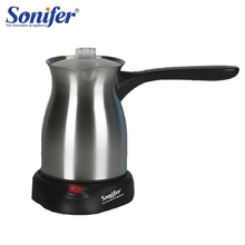 In Acciaio Inox Macchina per il Caffè Turchia Caffè Caffè 800W Elettrico di Caffè Pentola Bollito Latte di Caffè Bollitore per il Regalo 220V sonifer