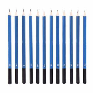 Image 2 - 48 قطعة قلم رصاص رسم المهنية رسم قلم رصاص عدة رسم الجرافيت أقلام الفحم العصي المحايات القرطاسية الرسم Suppli