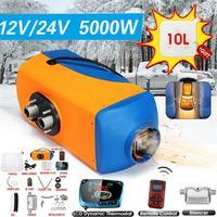 5KW Air дизельный Обогреватель 12 В 24 В парковка нагреватель Электрический нагревательный охлаждения ЖК дисплей монитор термостат для автомоб