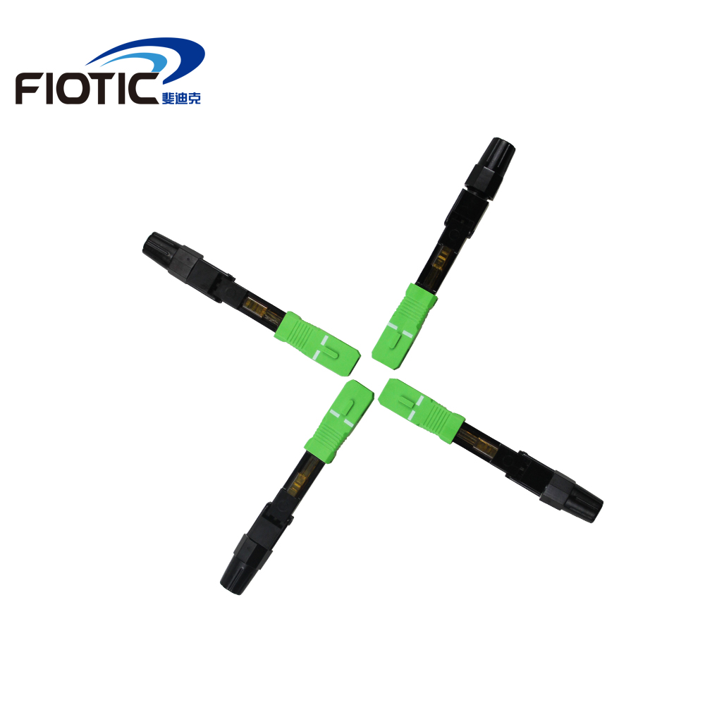 Image 2 - 100PCS/box FTTH SC/APC single mode fiber optic SC APC quick 
