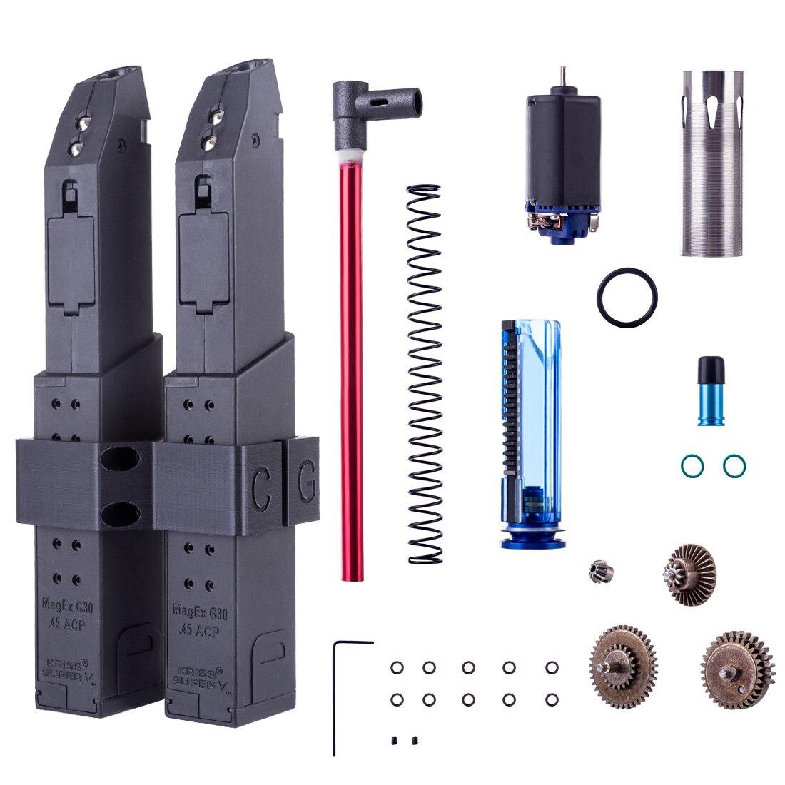 D'origine Magazine + Mag Coupleur Haute Performance Modification Accessoires Kit pour LH Vecteur Gen.2 gel aqueux Perles Blaster
