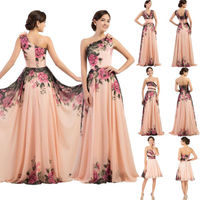 Women Formal Evening Party Prom Ball Gown Dress