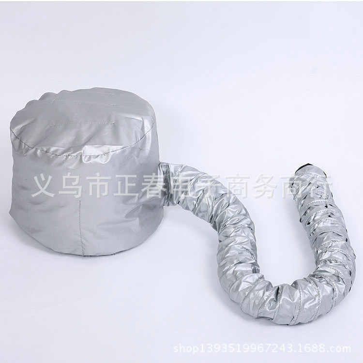 Profesional Comfort Home Portable Salon Pengering Rambut Topi Hood Bonnet Lampiran Warna Perak Perawatan Rambut Bonnet Pengering Lampiran