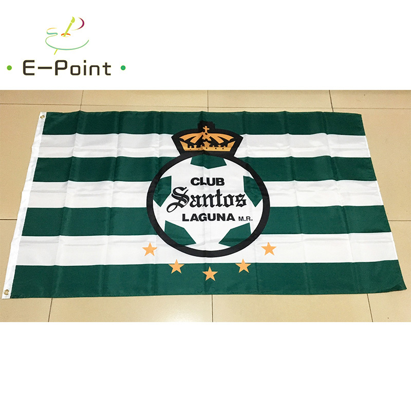super popular d3756 2bd5d US $8.0 |Mexico Liga Santos Laguna 3ft*5ft (90*150cm) Size Christmas  Decorations for Home Flag Banner Type A Gifts-in Flags, Banners &  Accessories ...