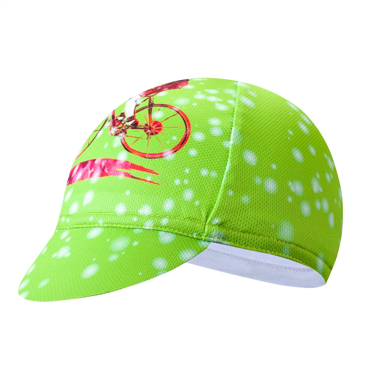 Cycling Cap Bike Bicycle Breathable Sweat Proof Polyester Hat Riding