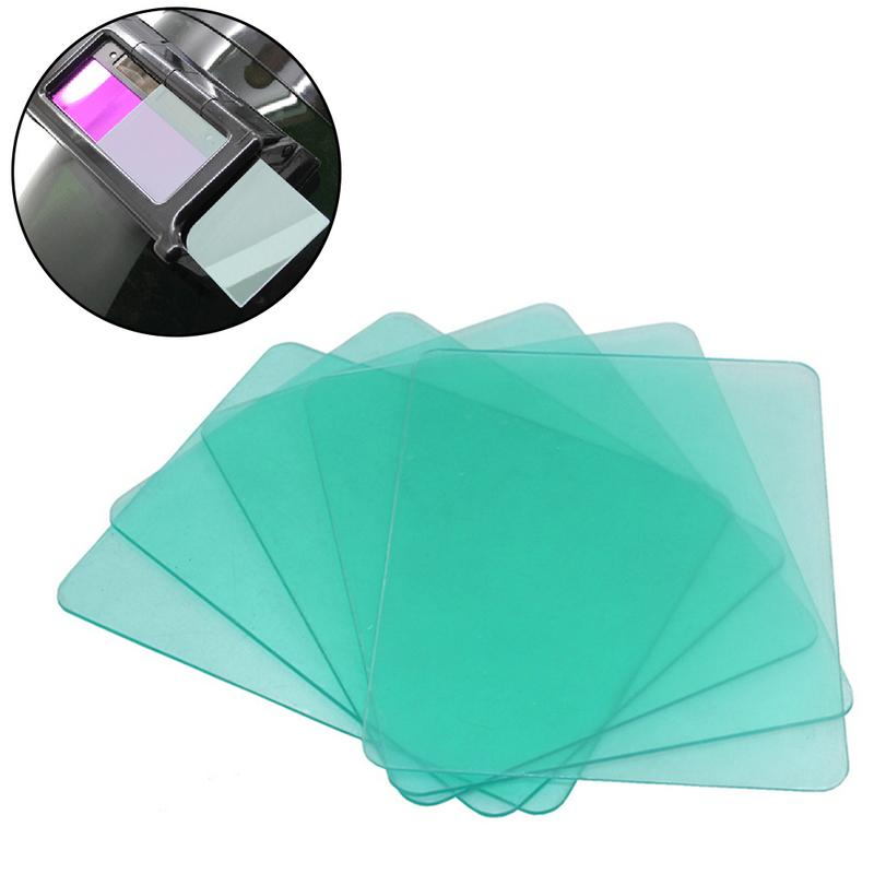 10Pcs/Bag Rounded Angle Solar Energy Automatic Welding Cap Mirror Group Lens Protection PC Protective Film