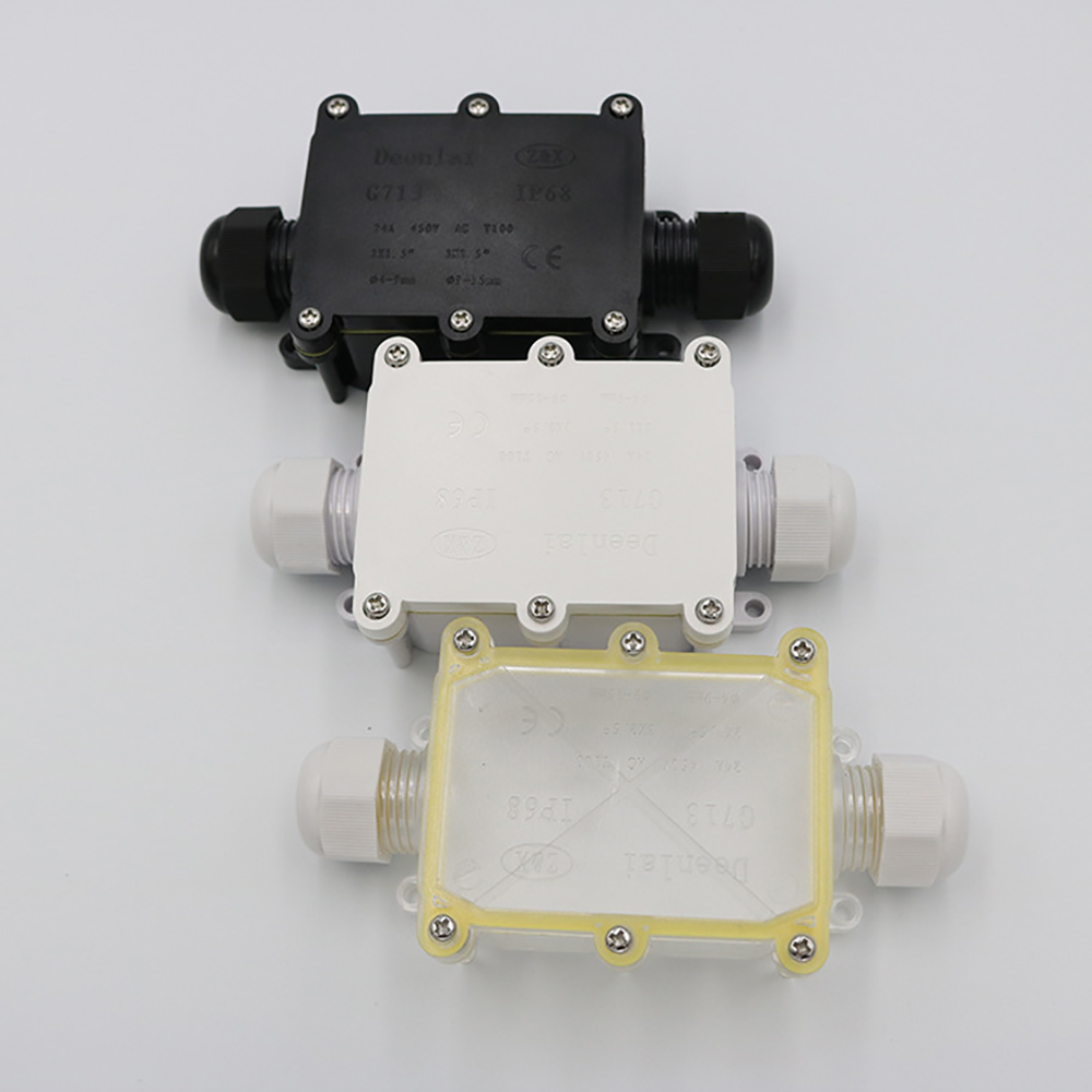 2019 New Waterproof IP68 Outdoor Junction Box DTY Connectors Electrical Equipment Supplies Used For Underwater Lights