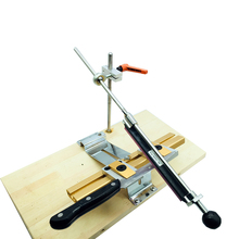 Sistema de afilador de cuchillos de borde, clip de inversión, deslizador cruzado, clip de doble fila, versión avanzada