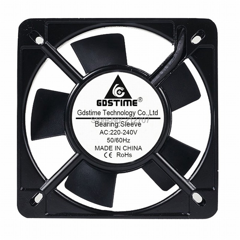 5 pieces ac axial flow cabinet cooling fan 11025 110*25mm 220v for