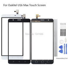 6.0 inch For Oukitel U16 Max Touch Screen Digitizer Glass Original Replacement Parts black white For Oukitel U16 Max