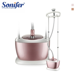 2000W de doble poste vaporizador de ropa placa Vertical vaporizador de hierro 9-engranaje ajustable hogar colgando plancha de hierro máquina de cepillo Sonifer