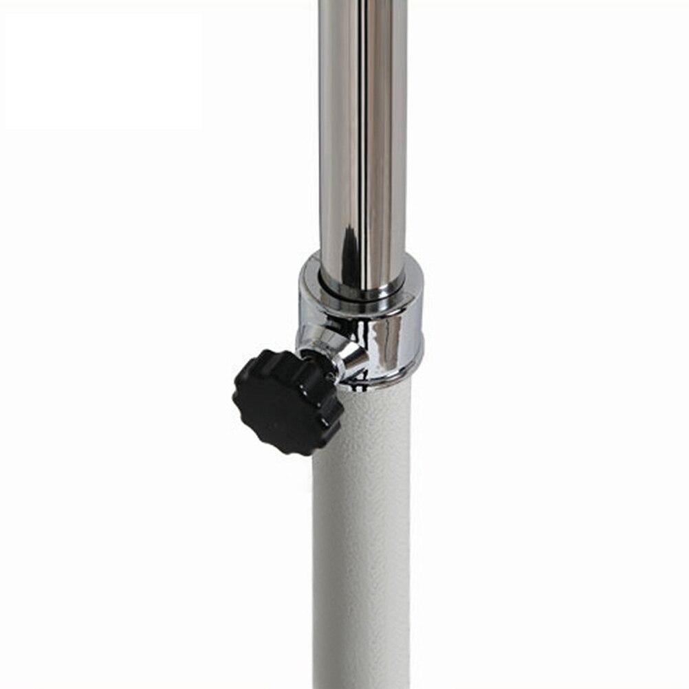 Multi função de Secagem Retrátil Rack de Pano de Secagem Estande Roupas Cabide De Roupa com Rodas para Interior e Exterior (Branco) - 6