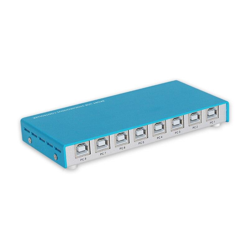 Contrôleur synchrone de souris de clavier d'usb de synchroniseur de 8 ports pour le contrôle Multiple de jeu de Pc - 3