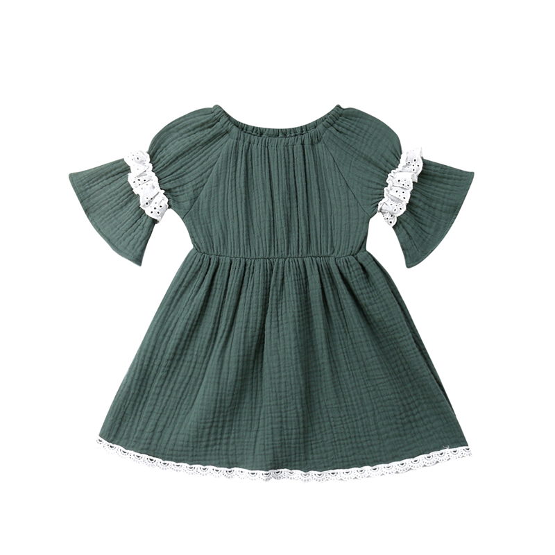 Baby Girl Party Dress New First Birthday Dress For Girl Baby Clothes Lace Little Girls Clothing Girls Dresses Princess Dresses