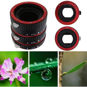 Image 2 - Camera Lens Adapter Extension Tube Auto Focus AF Macro Extension Tube/Ring Mount for CANON EF S Lens For all Canon SLR Cameras
