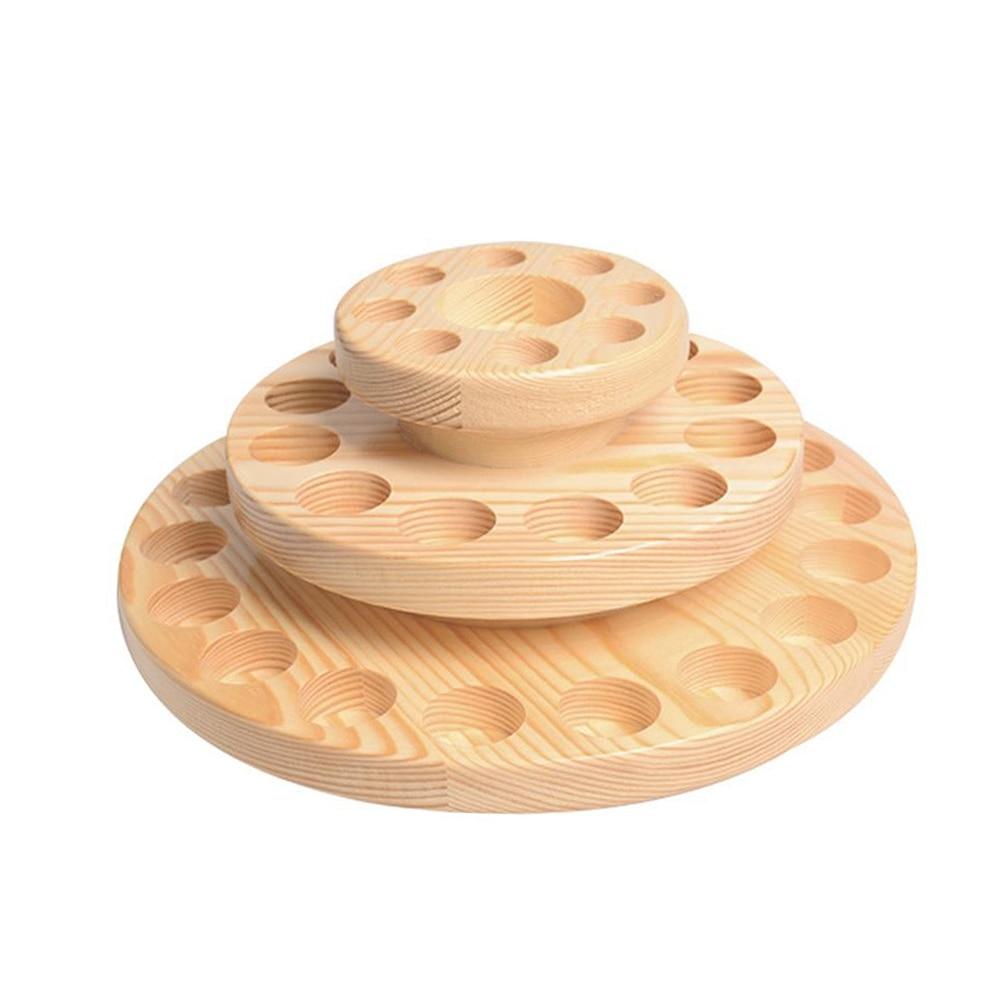 Cas en bois Aromathérapie Huiles Organisateur Boîte De Rangement Outil 39 Fentes Trois Couches huile essentielle boîte de rangement présentoir