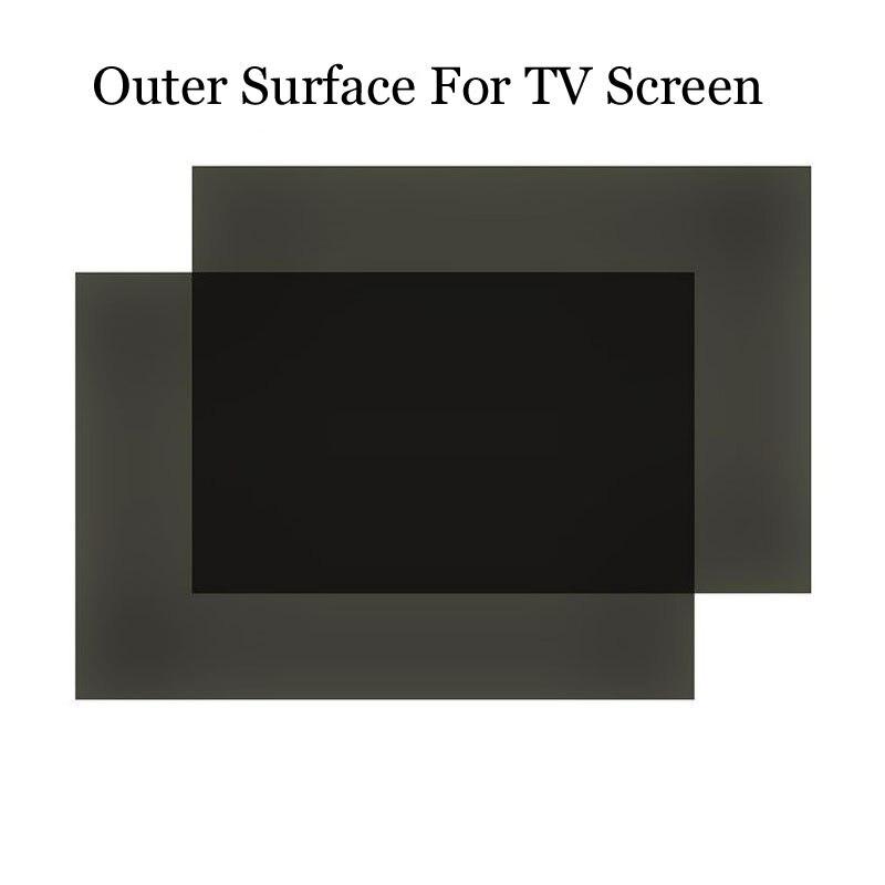 5 pçs/lote Novo 42 polegada 0 grau Atacado Folha de Filme Polarizado Para LCD Tela Do Painel de LED