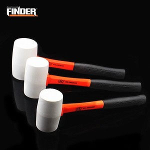 FINDER Rubber Hammer With Stee