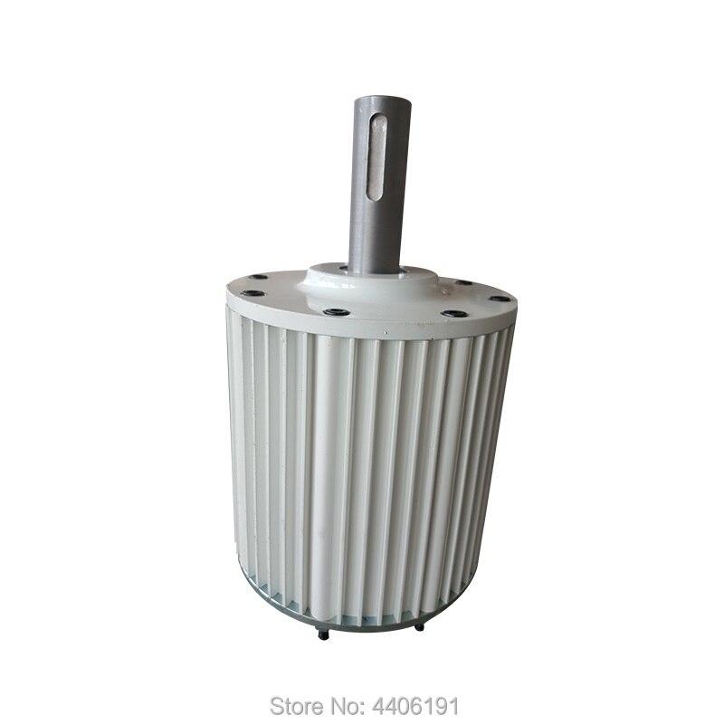 2kw 220v Permanent Magnet Generator ac Alternator 48v 96v 120v 230v 3 phase 2000w 1000w AC generator called PMG PMA