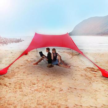 אוהל צל פתוח, מעולה לחוף.