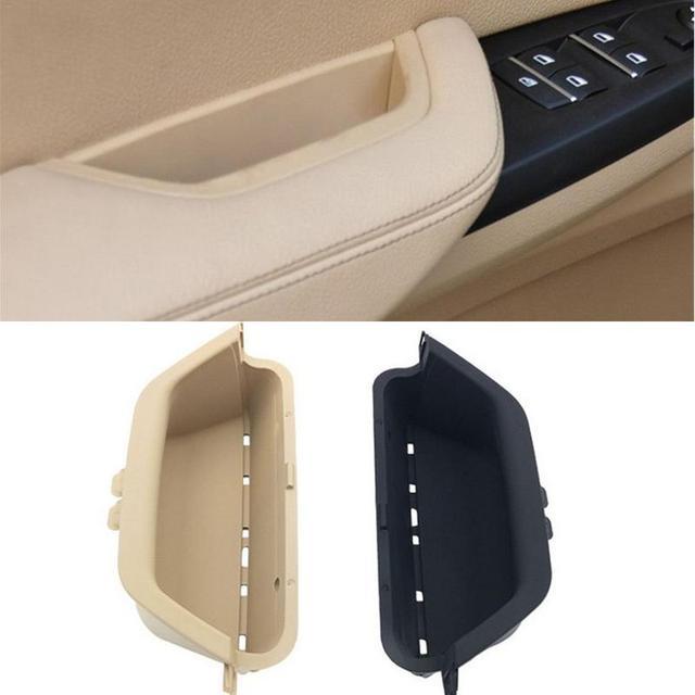 Car Front Left Door Inner Handle Pull Trim Door Interior Panel Handle For BMW X3 F25 X4 F26 2011-2017 Auto Accessories