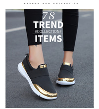 SENOUER Autumn Mesh Breathable Shoes Leisure Shoes Soft Bottom Running  Sneakers Female L Foreign Trade Wish 21c053cb34b2