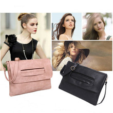 Leather Messenger Bag Women's Dating Shopping Business Multi-purpose Portable Simple Bag