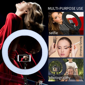 "Image 5 - ZOMEI 18 ""カメラ写真スタジオビデオ Led Selfie リングライト写真照明調光可能なランプのための Youtube のビデオ撮影"