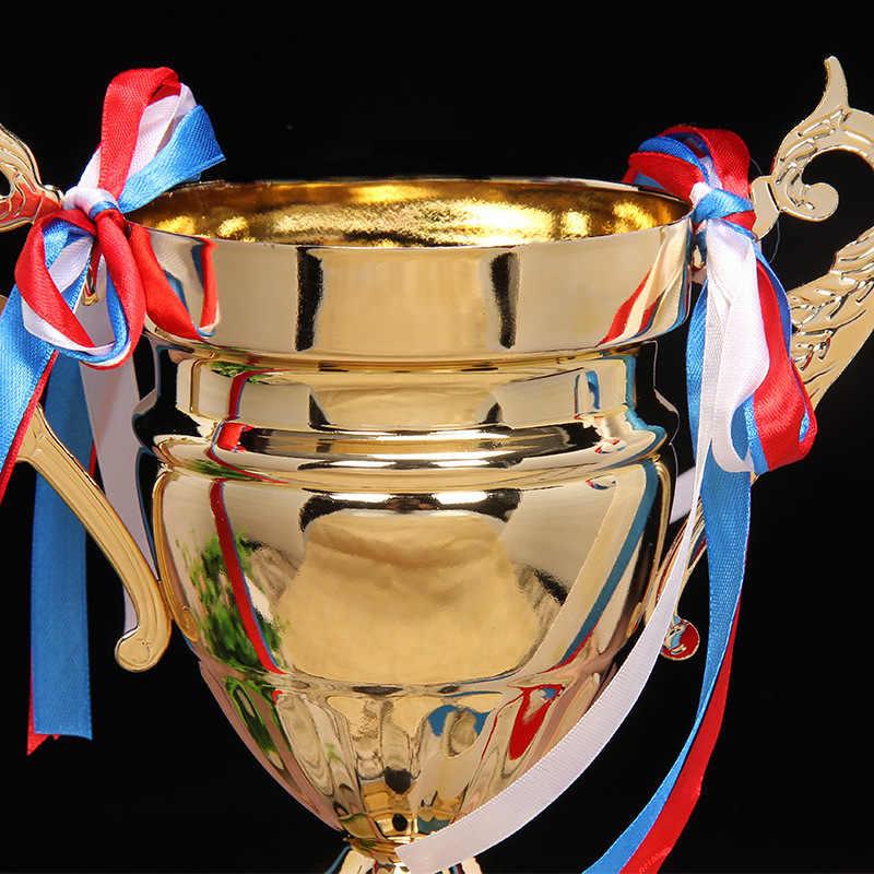 Горячие высокого класса бизнес Трофейная награда настройки Лига чемпионов трофеи и награды конкурс награда медаль сувенирная чаша