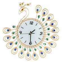 Buy Peacock Clock Wall And Get Free Shipping On Aliexpress Com