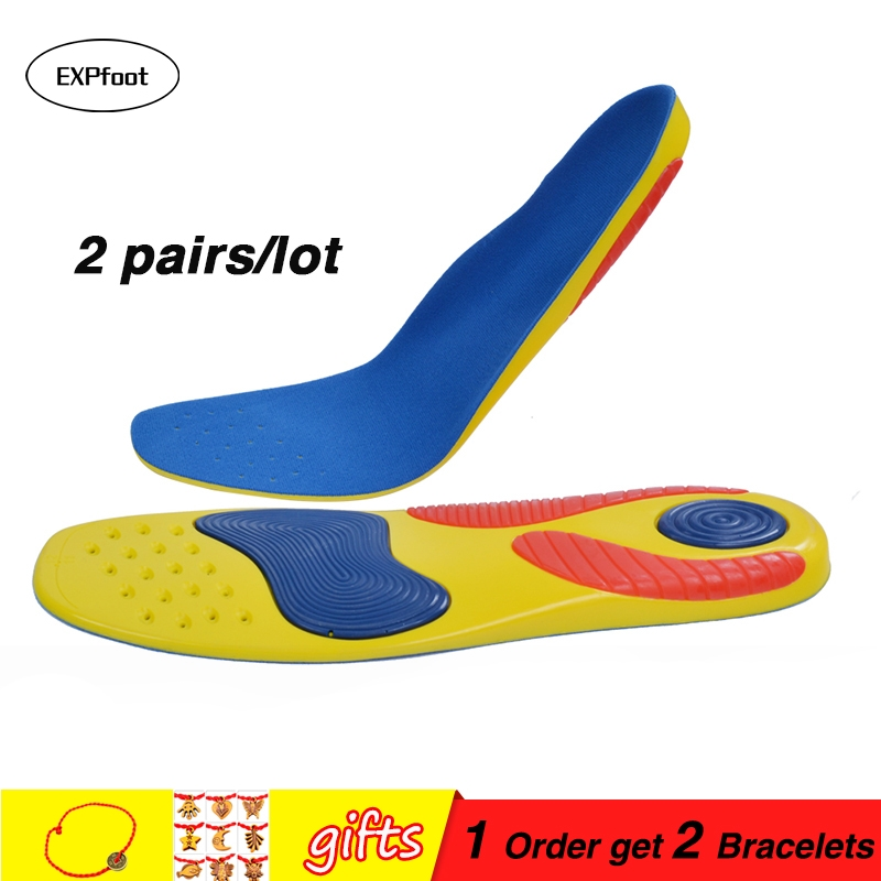 Plantar Fasciitis Orthotic Arch Support Insoles the Heel and Provide Extreme Comfort for Walking Running Tennis Athletes shoes image