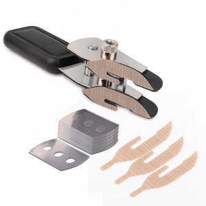 Teflon Double-headed Vinyl Film Cutter Wall Paper Car sticker Film cutting Knife with 10pcs Blades Car Wrap Tools(China)