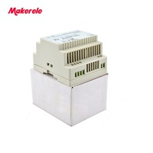 цена на Low Price 45W Din Rail Switching Power Supply DR-45 12V Ac Dc Power Supply For Led Driver Directly Sale
