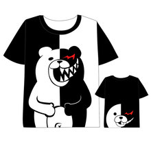 Hot New Dangan Ronpa Danganronpa 2 Mono T-shirt Men Women Short Sleeve Summe dress Cosplay Costumes Tops Unisex Harajuku t shirt цена