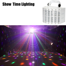 SHOW TIME Remote control LED butteryfly with laser flower effect light professional for home entertain disco party hol
