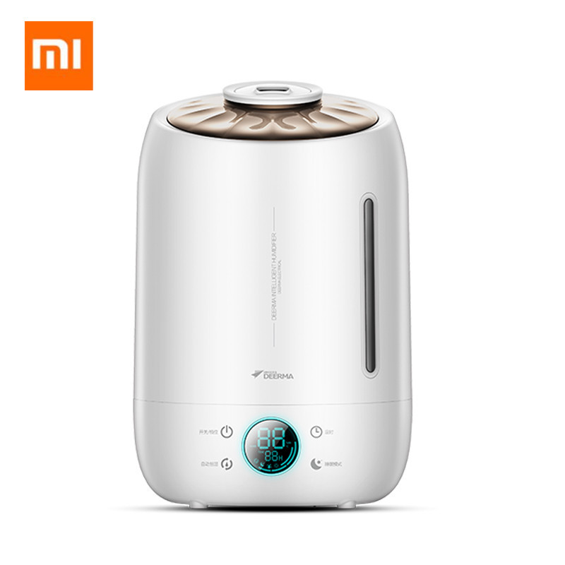 Original Xiaomi Deerma Air Humidifier 5L Large Capacity Quiet Aroma Ultrasonic Fog Creator