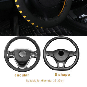 Image 3 - FORAUTO Auto Lenkrad Abdeckung Universal Fit Für Die Meisten Autos 38cm Durchmesser EVA Stanzen Auto styling Innen Zubehör