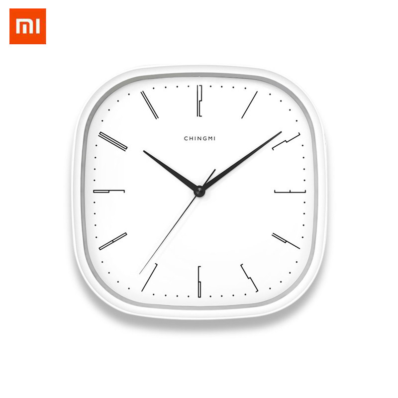 Xiaomi Mijia Chingmi Wall Clock thin super quiet super precise Simple Style hanging clock For for home office smart home