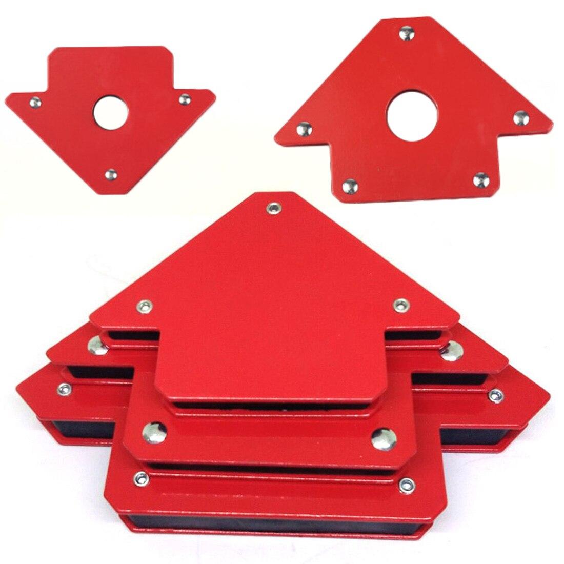 25LB Triangle  Arrow Welder Positioner Power Tool Accessories Soldering Locator Strong Magnet Welding Magnetic Holder